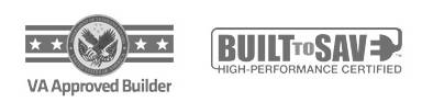 'VA Registered Builder' status and 'Built to Save' certificate
